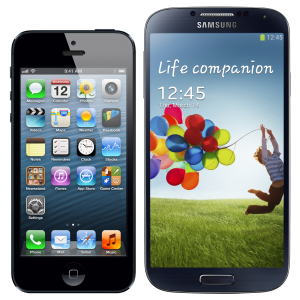 iPhone-and-Samsung-Galaxy-S4